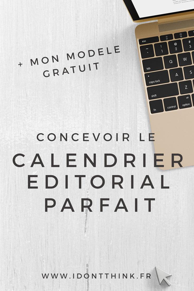 Calendrier Editorial Parfait