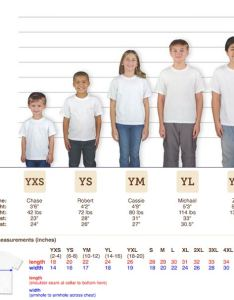 Jerzees heavyweight or  shirt youth sizing chart also custom guide order shirts made easy iverson designs rh idoshirts