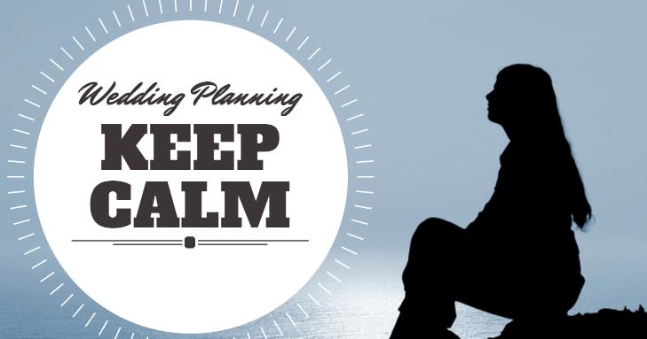 wedding planning keep calm