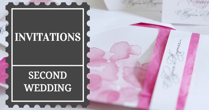 Wedding Invitation Edicate: Second Wedding Invitation Etiquette