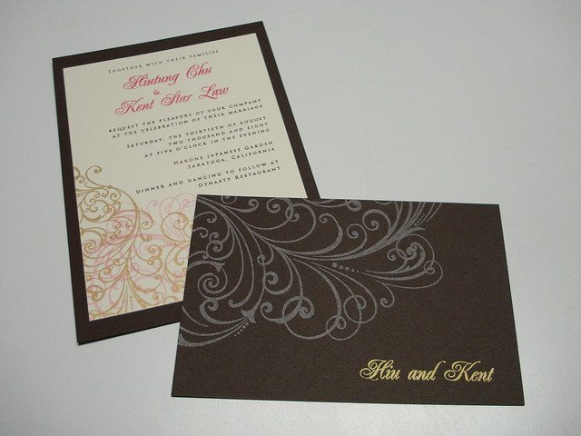 2nd Marriage Wedding Invitations: Wording Second Wedding Invitations: Bride And Groom Hosting