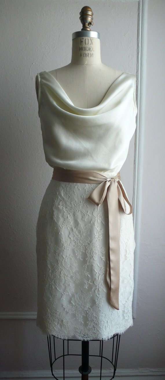 second wedding dress older bride
