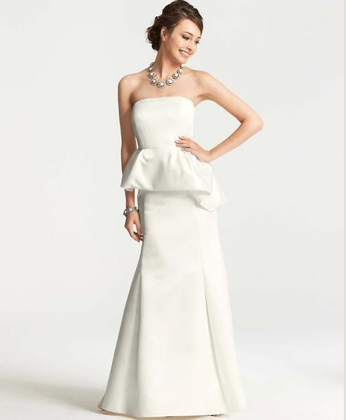 Ann taylor collection perfect for second wedding dresses casual wedding dresses junglespirit Images