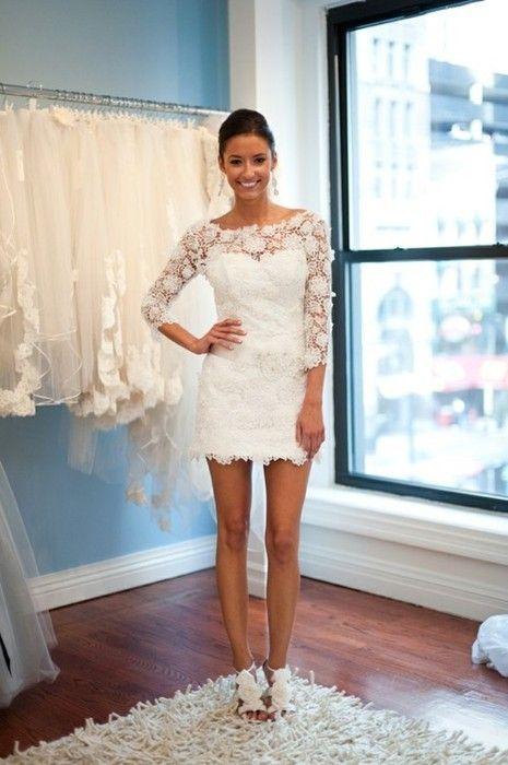 Second Wedding Dress for An Older Bride