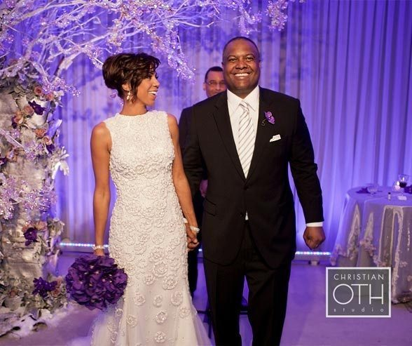 Holly Robinson vow renewal