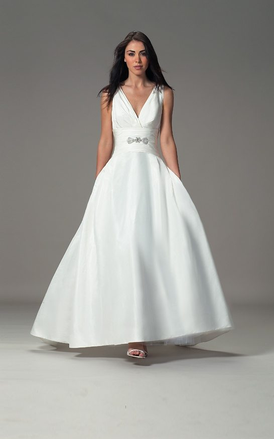 I Do Take Two 13 Gorgeous Wedding Dresses for Older Brides