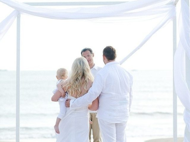 beach wedding vows