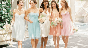 Choosing dresses for a second wedding ideas for bridesmaid and groomsmen attire at a second wedding junglespirit Images
