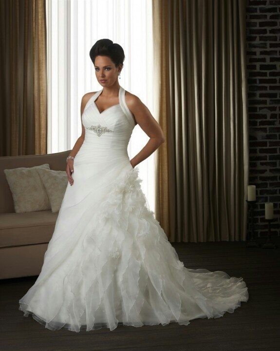 Second wedding dress for plus size bride pinterest plus size wedding dress junglespirit Image collections