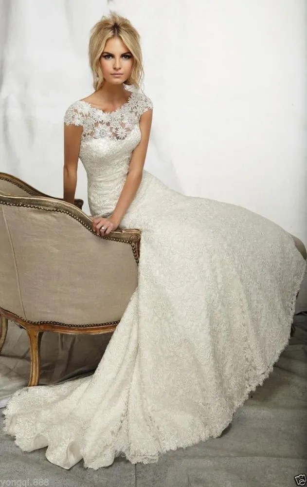 Ivory colored wedding dress for older second time bride for Wedding dress 2nd marriage