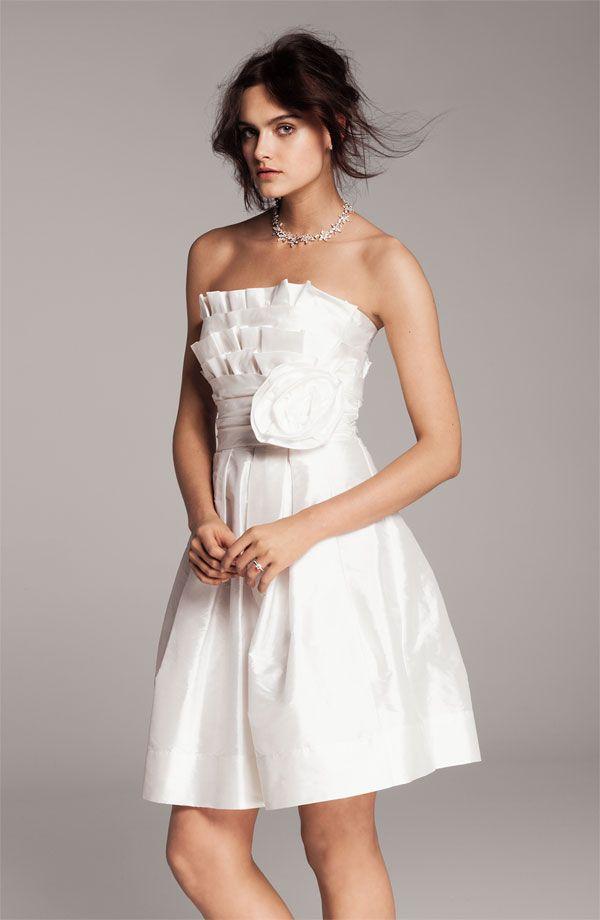 little white dress flared