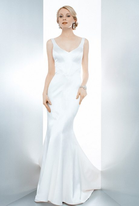 Silky Bridal Gowns For the Second Time Around!
