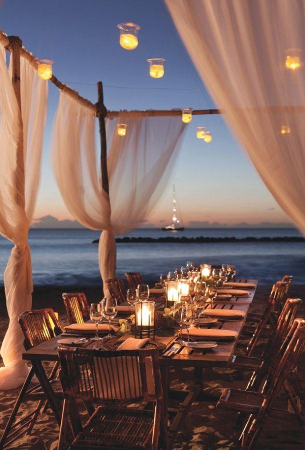 outdoor lighting wedding