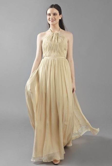 Golden Wedding Gowns
