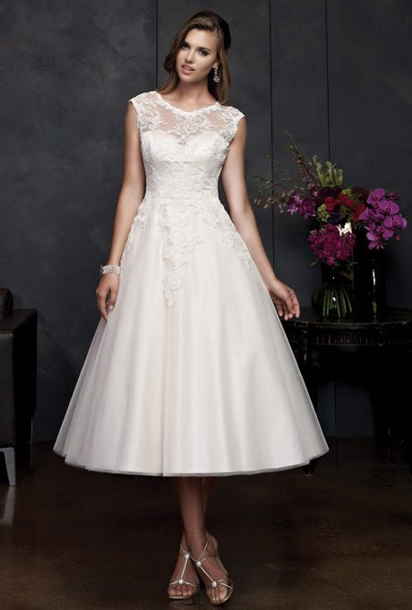 Tea Length Beauties For Older More Sophisticated Brides
