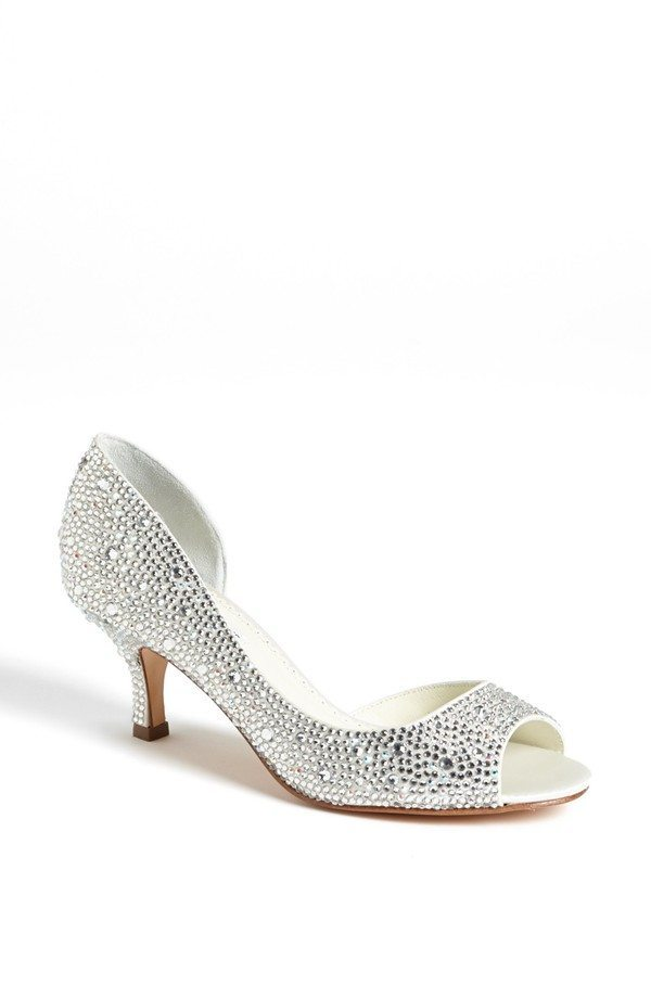 I Do Take Two Sparkling, Sophisticated Kitten Heels For Your Walk ...