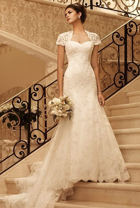 Traditional-Style, Trumpet Wedding Gowns for Older Brides