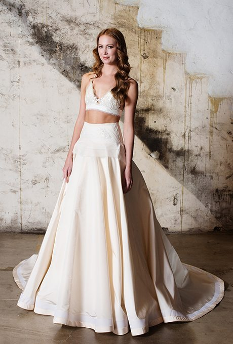 Alternative & Whimsical Two-Piece Wedding Gowns
