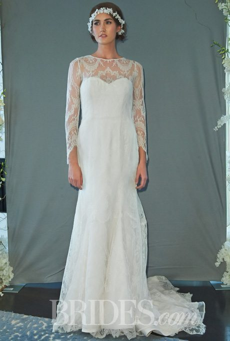 Wedding Gowns with Long Lace Sleeves