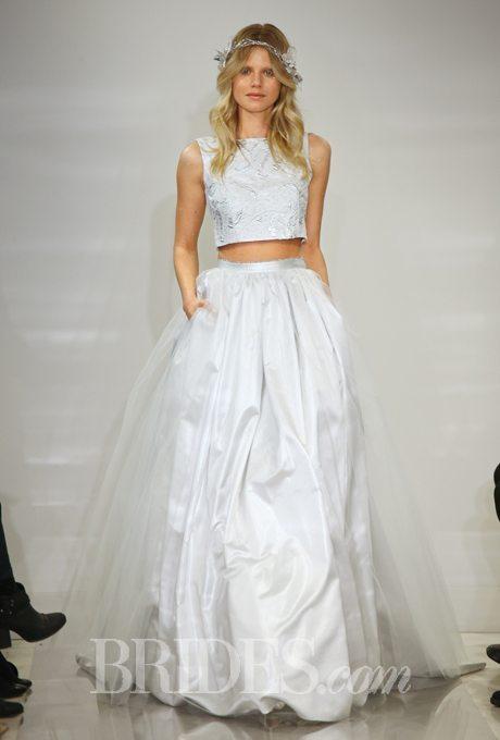 Alternative Two Piece Wedding Gowns