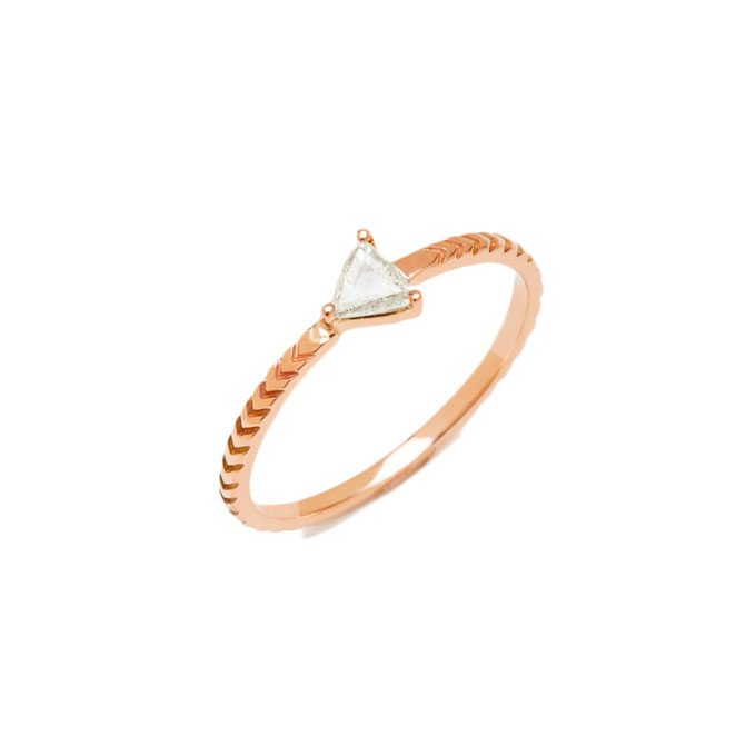 Rose Gold Engagement Rings for a Non Traditional Bride