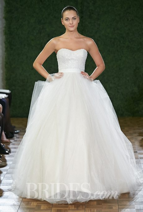 Simple and Classy Plus-Size Ball Gowns