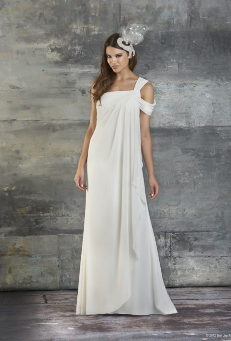 Gorgeous grecian wedding gowns for your second time around grecian wedding gowns junglespirit Image collections