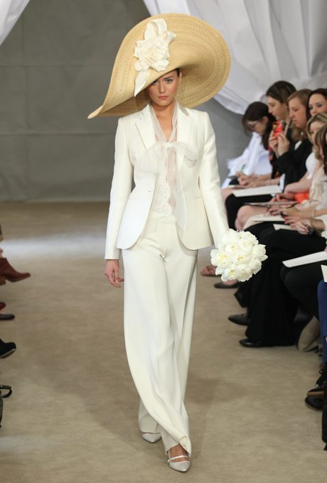 Feminine, Bridal Pant Suits for your Wedding Day