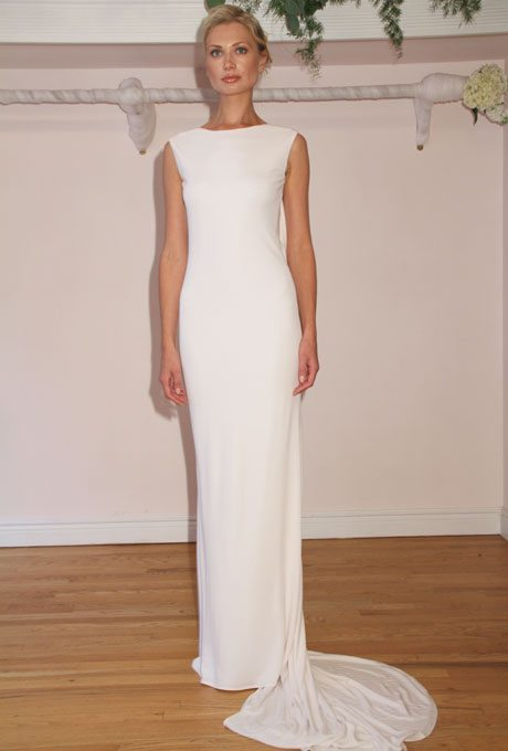 Ultra modern wedding gowns for your second time around for How to clean your own wedding dress