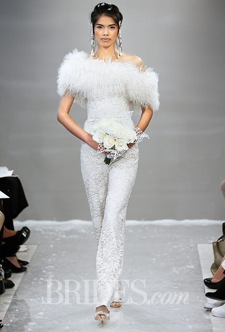 Wedding Pant Suits.Feminine Bridal Pant Suits For Your Wedding Day