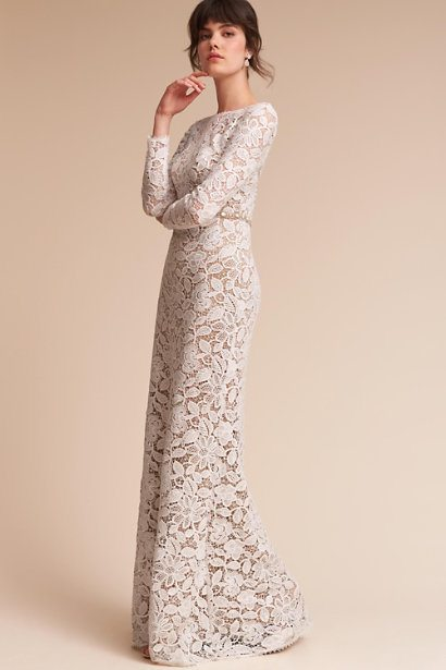 47ede01b2a Classic Wedding Gowns For the Over-50 Bride
