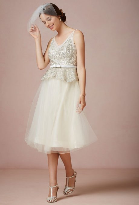 Tea-Length Wedding Dresses