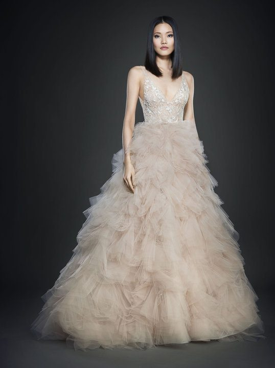 3700 by lazaro wedding gown