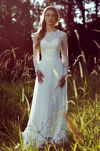 L1033 by mia solano wedding gown