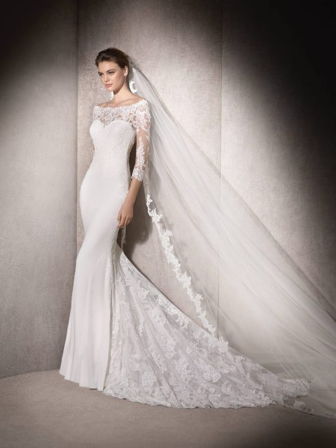 macedonia by st. patrick wedding gown