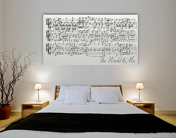 Canvas Sheet Music