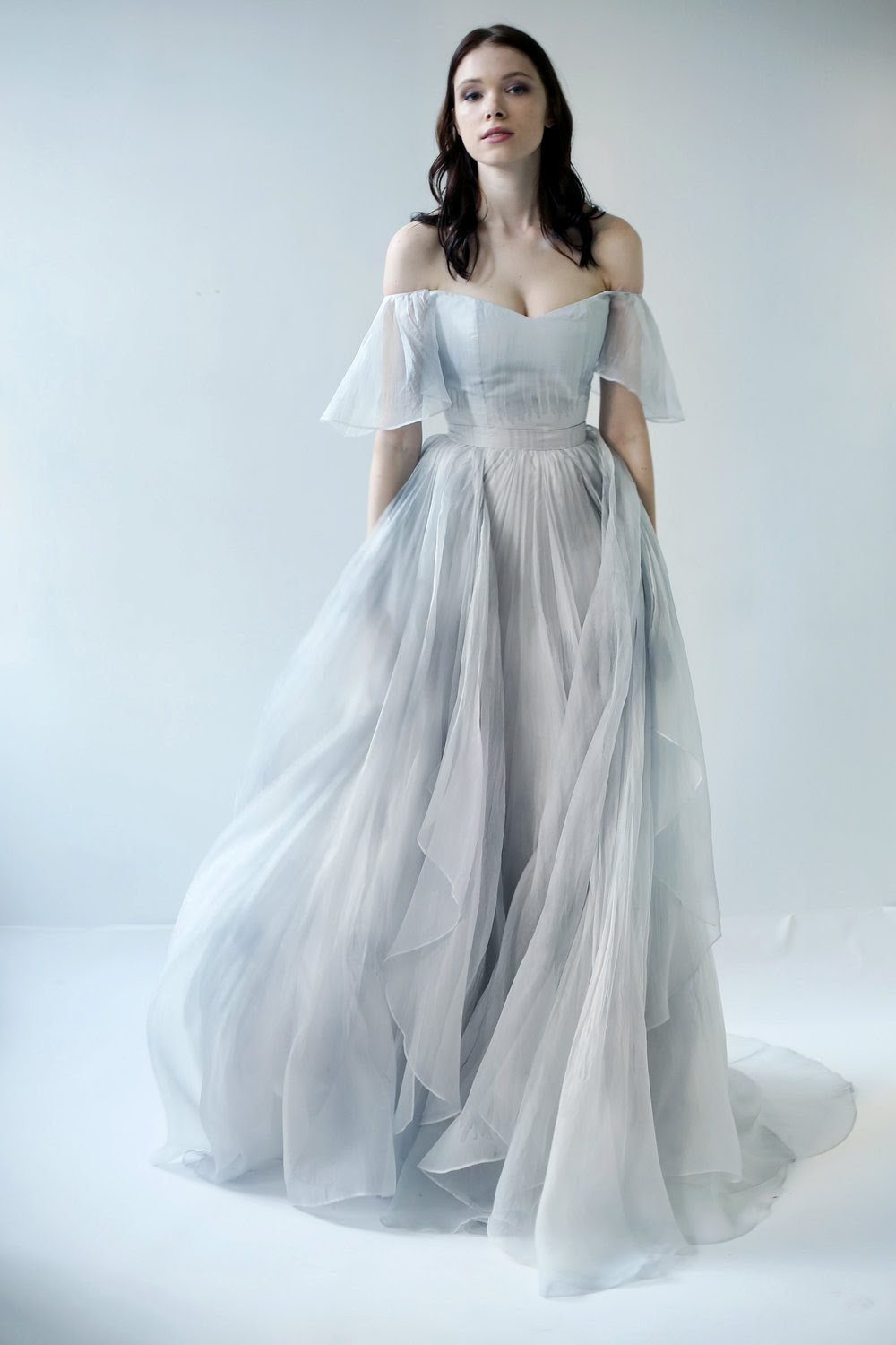 10 Blue Wedding Gowns To Say I Do All Over Again In