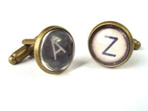 vintage typewriter cufflinks