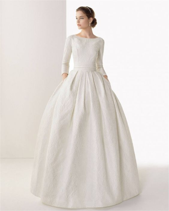 10 Modest Wedding Gowns For A Sophisticated Bride