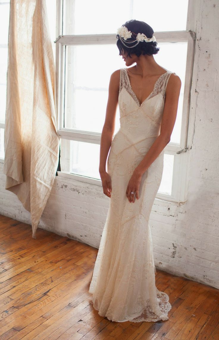 Roaring Rogue And Retro 1920s Wedding Gowns