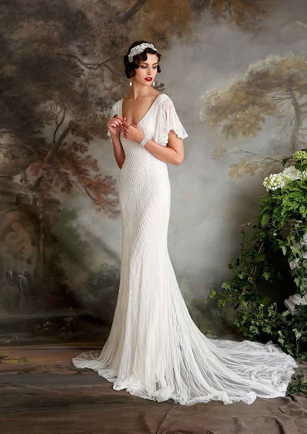 Roaring rogue and retro 1920s wedding gowns junglespirit Choice Image