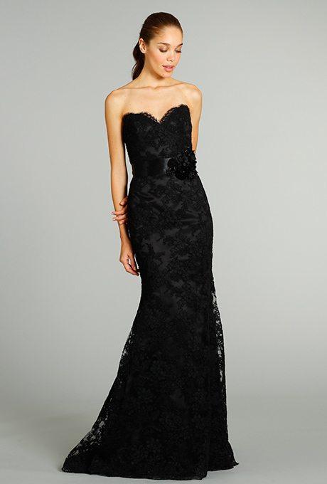 Black Wedding Gown