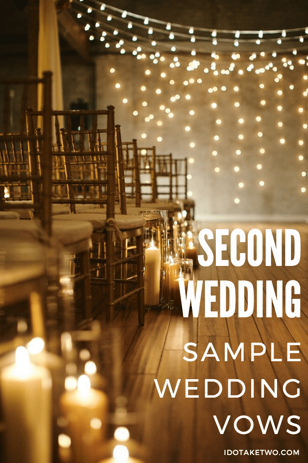 second wedding sample vows