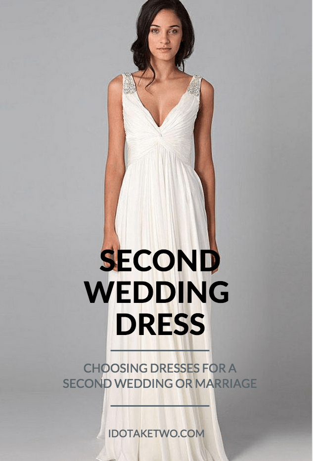 Choosing Dresses For A Second Wedding,Fitted Simple Wedding Dress Ideas