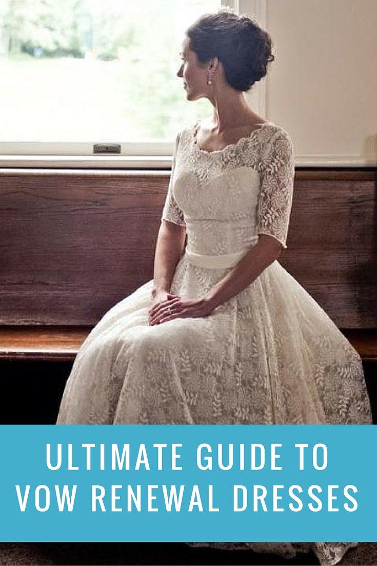 Vow renewal dresses images
