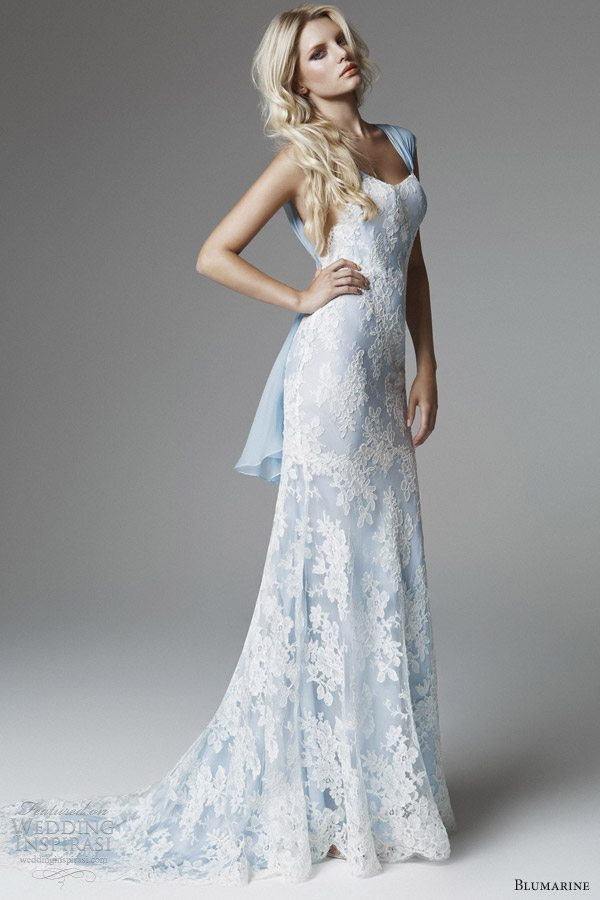 blumarine-2013-bridal-collection-blue-white-lace-wedding-dress ...