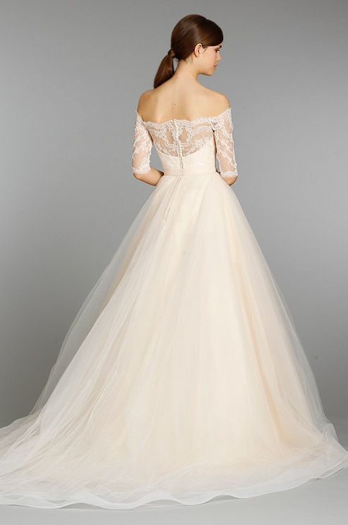 Peach Wedding Gowns For Your Second Time Around