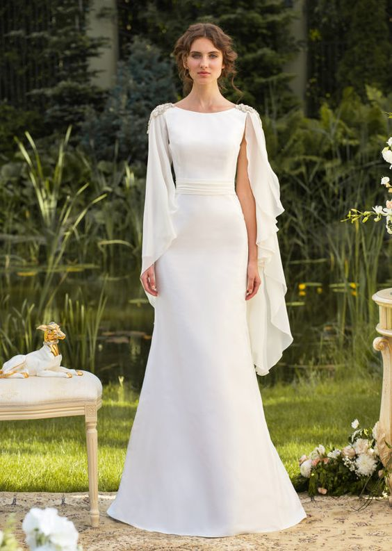 10 More Gorgeous Grecian Inspired Wedding Gowns  Wedding