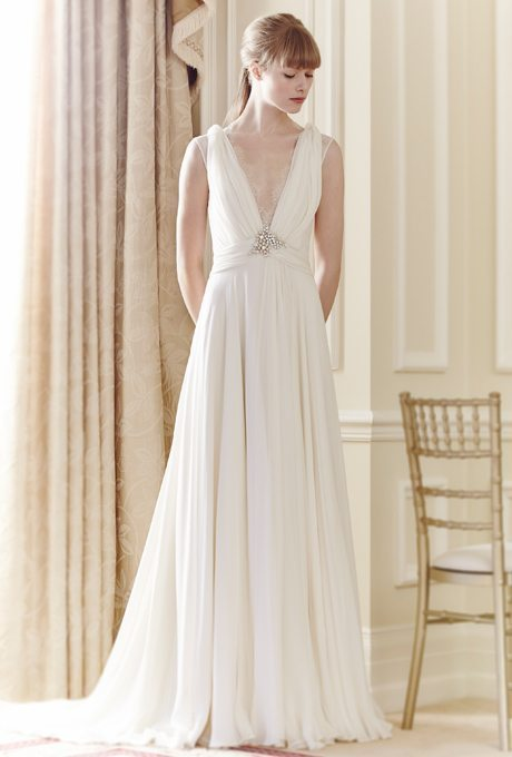 Wedding Gowns with Empire Waistlines