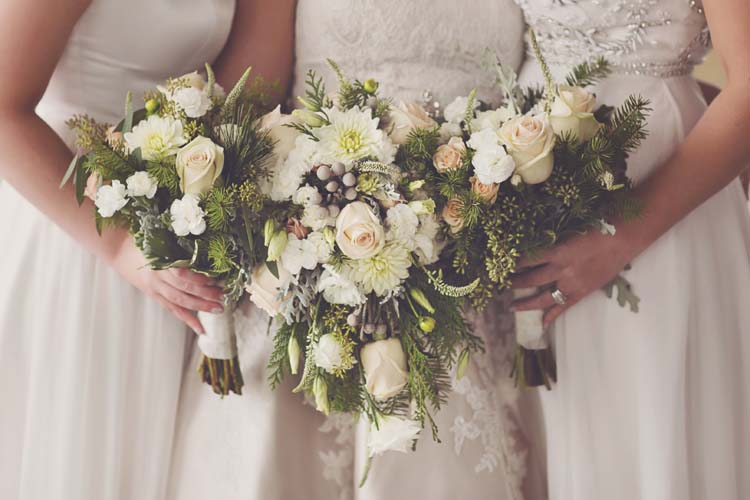 Winter White Wedding with Southern Details  I DO YALL